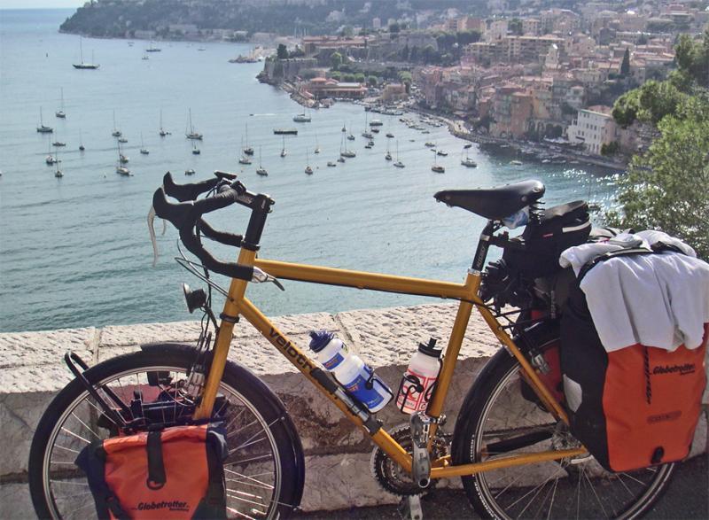 027  Philip - Touring France - Velotraum Cross touring bike