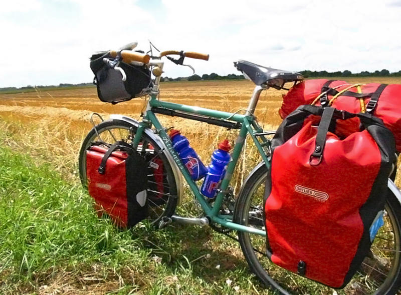 030  Andrew - Touring France - Rivendell Atlantis touring bike