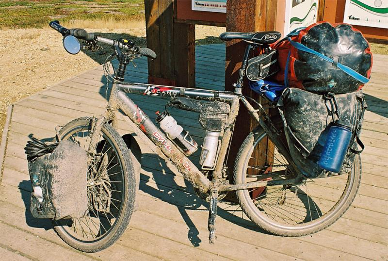 032  Christian - Touring Alaska - Cycle Wolf Tucano touring bike