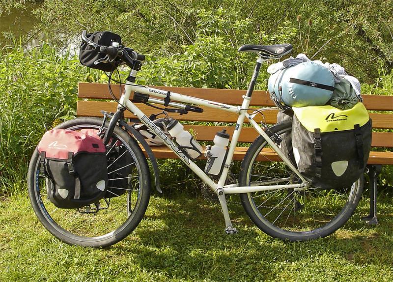 033  Gary - Touring through Germany - Kona Kilauea touring bike