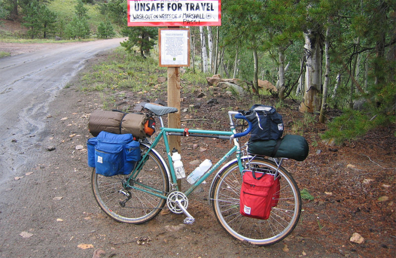213  Bill - Touring Colorado - Rivendell Atlantis touring bike