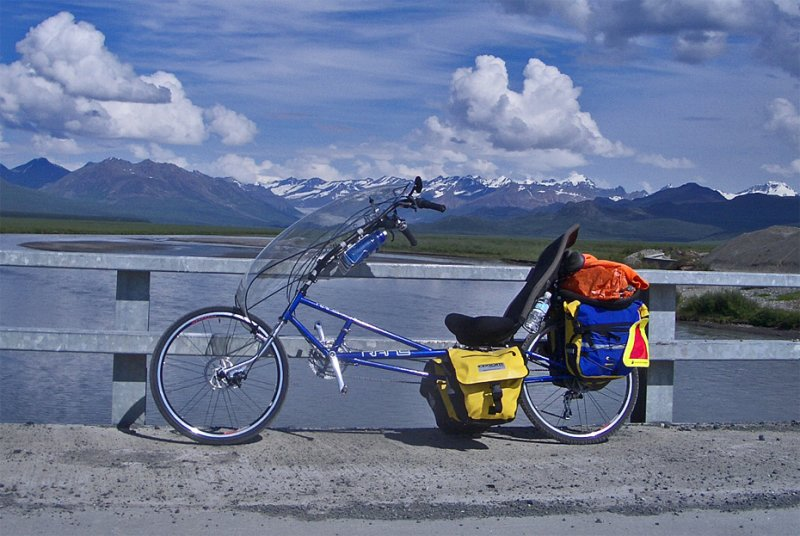 216  Kelly - Touring Alaska - Rans Stratus XP touring bike