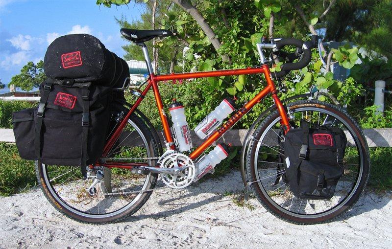 235  Sean - Touring Florida - Marin Pine Mountain touring bike