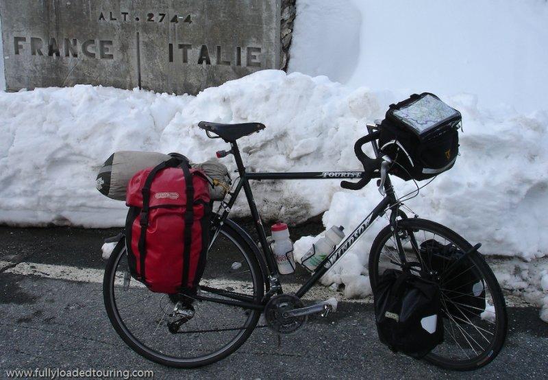 259  Greg - Touring through France - Windsor Tourist touring bike