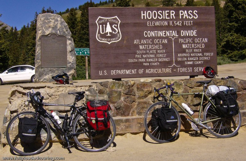 269  Devin & Mike - Touring Colorado - Specialized TriCross & Trek 520 touring bike
