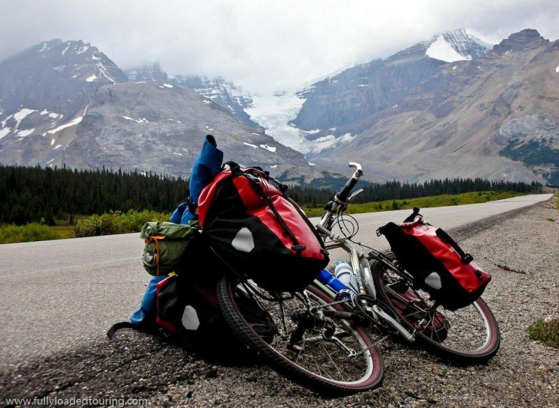 274    Jane - Touring Alberta - Orange P7 touring bike