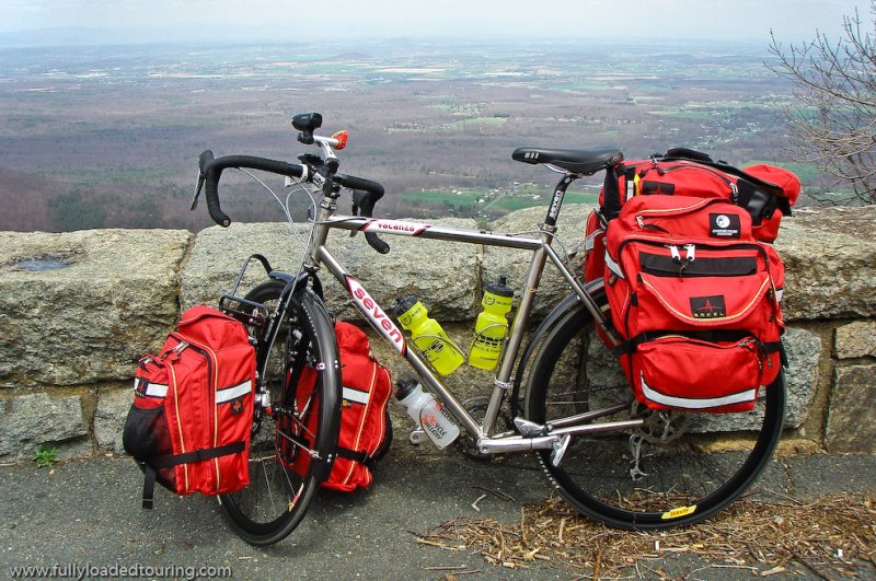 275    Christopher - Touring Virginia - Seven Vacanza touring bike