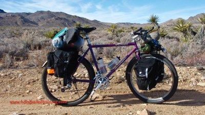 332    John - Touring California - Specialized Rock Hopper touring bike