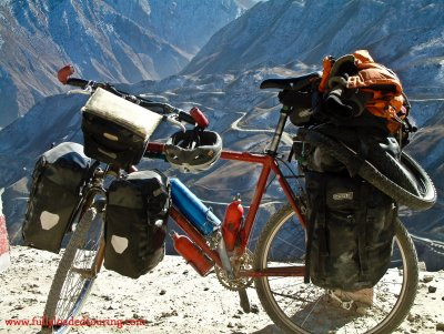 333    Kendon - Touring Tibet - Gary Fisher Hoo Koo e Koo touring bike