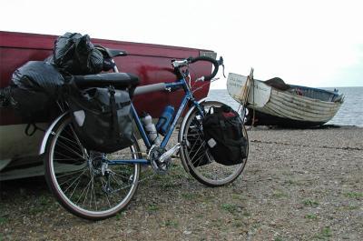 016  Mark - Touring England - Thorn XTC touring bike