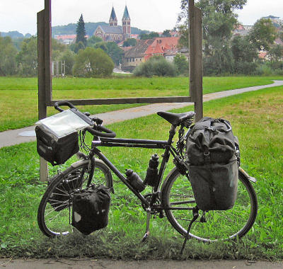 038  Ludwig - Touring Germany - Koga Randonneur touring bike