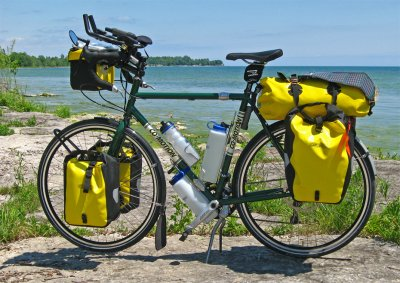229  Bob - Touring Ontario - Co Motion Americano touring bike