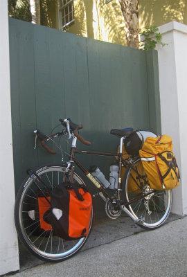 240  Stacy - Touring Florida - Dahon Tournado touring bike