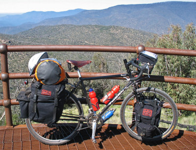 243  Cliff - Touring Australia - Thorn Nomad touring bike