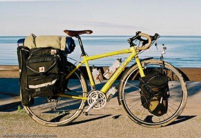 271  John - Touring New York - Cannondale T800 touring bike