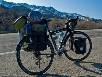 281    Dwain - Touring Utah - Cannondale T800 touring bike