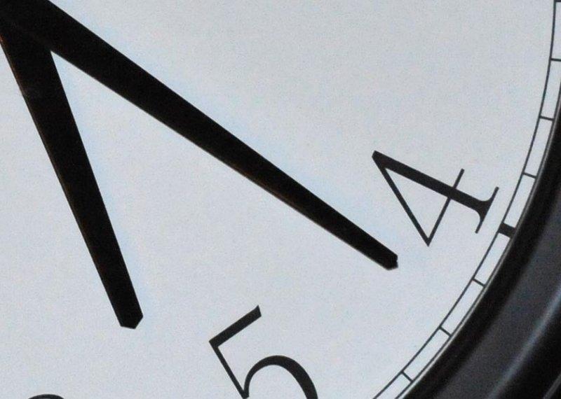 Clock iso6400