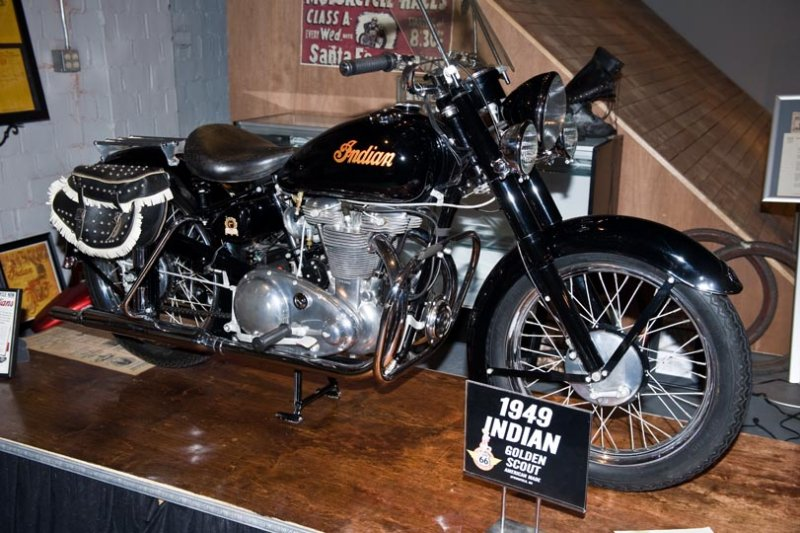 1949 Indian Golden Scout