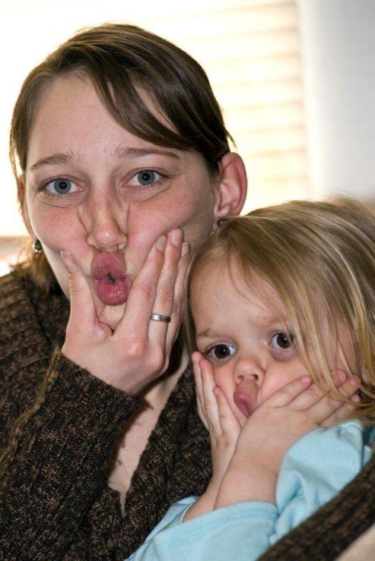 Rebecca & Aunt Becky
