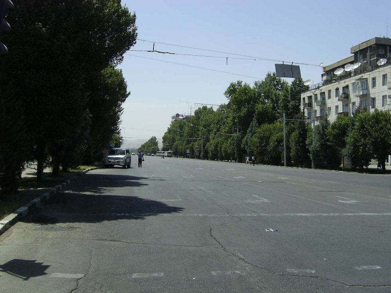 Ismoil Somoni street, Dushanbe