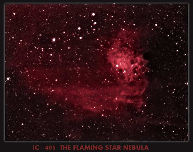 IC 405 - THE FLAMING STAR
