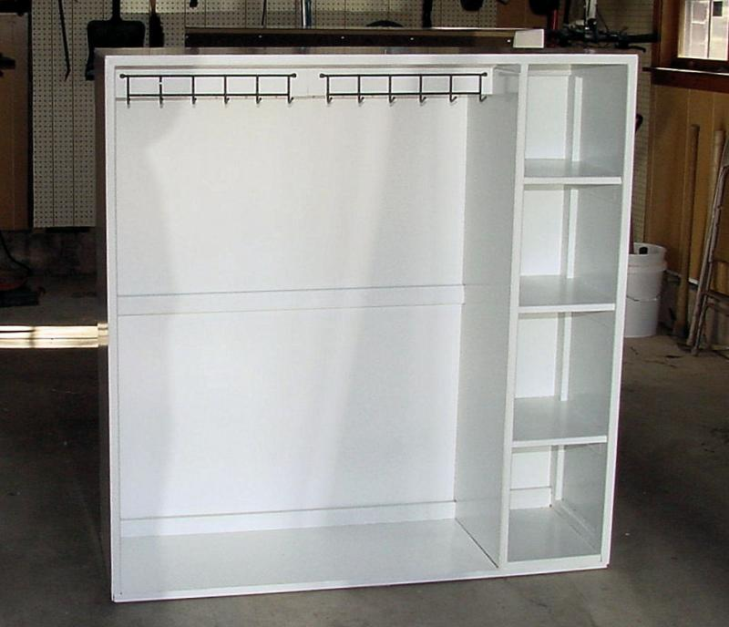 Clothes Cabinet For Day Care Center