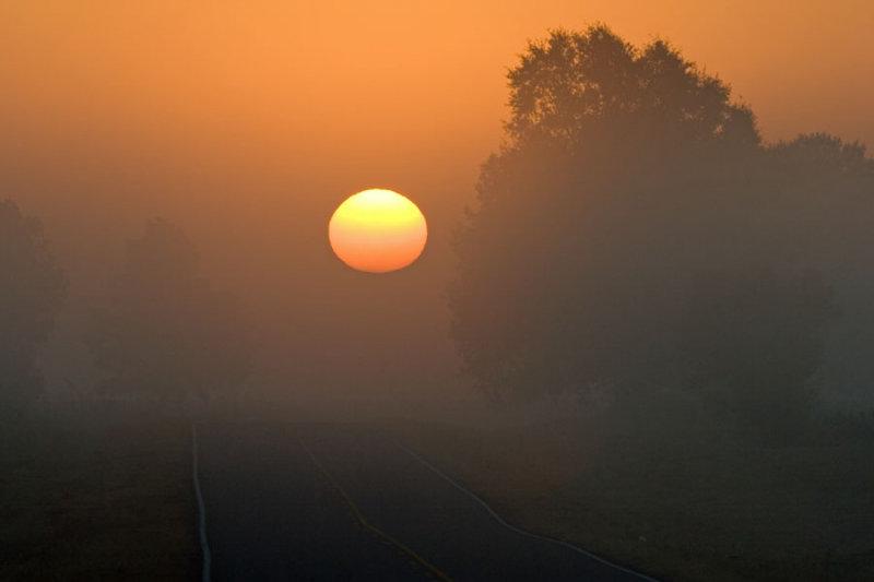 sunrise from FM 71