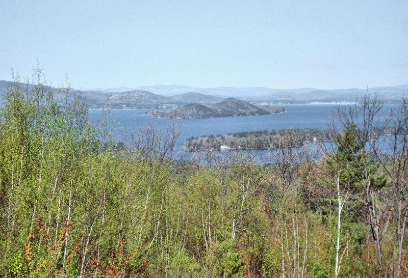 View west across Winnipesaukee