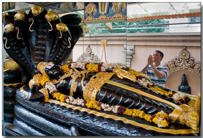 Sri Krishnan Temple - Reflected prayer