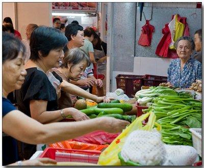 Veggies at Fu Lu Shou Centre