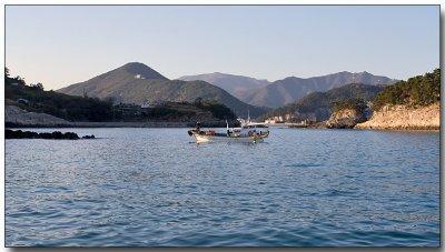 Fishing & a beautiful background...