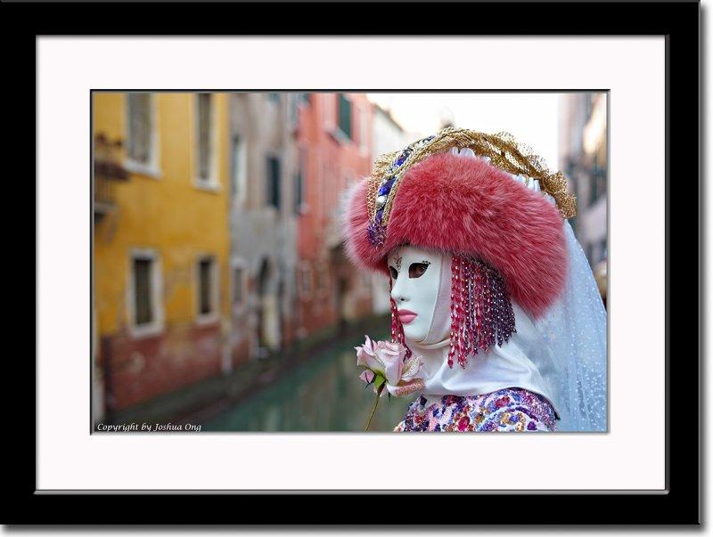 Anna Along a Canal
