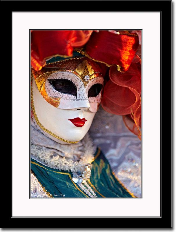 Mask at Sunset