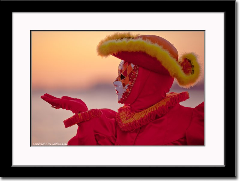 Red Mask After Sunset
