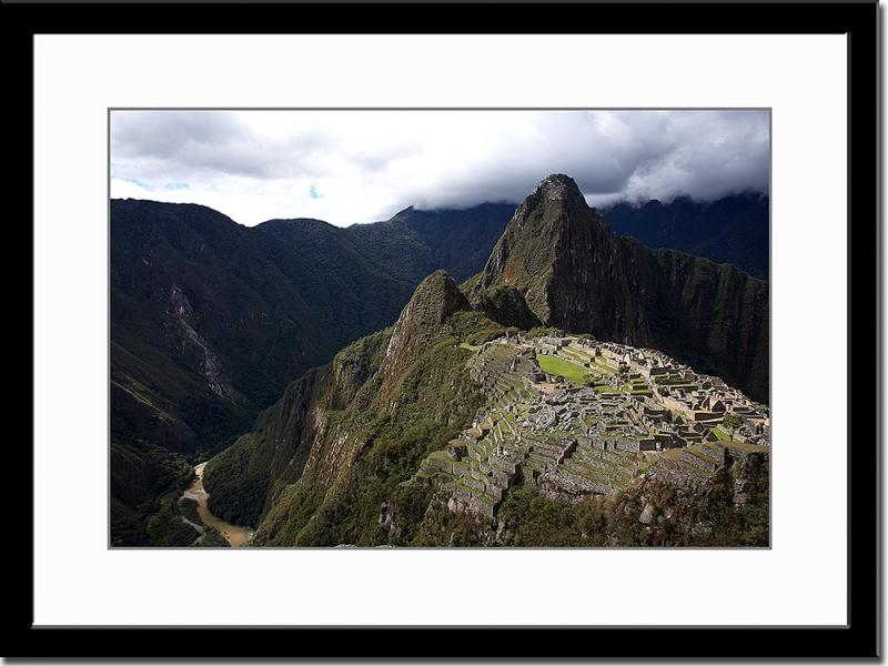 Yes, this is Machu Picchu - the Lost Inca City