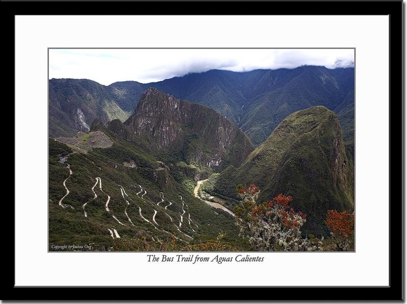 The Road from Aguas Calientes