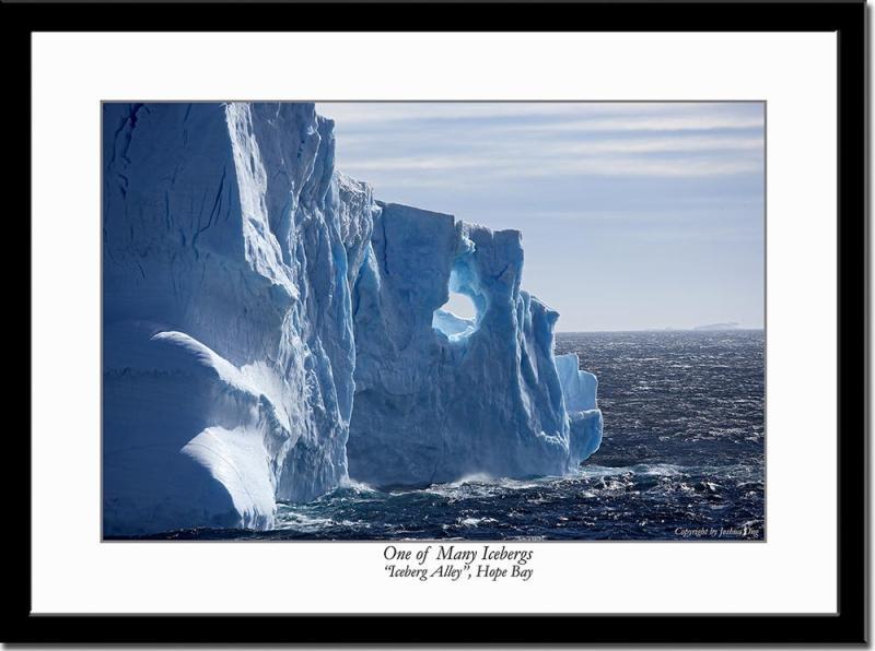One of Those Blue Icebergs