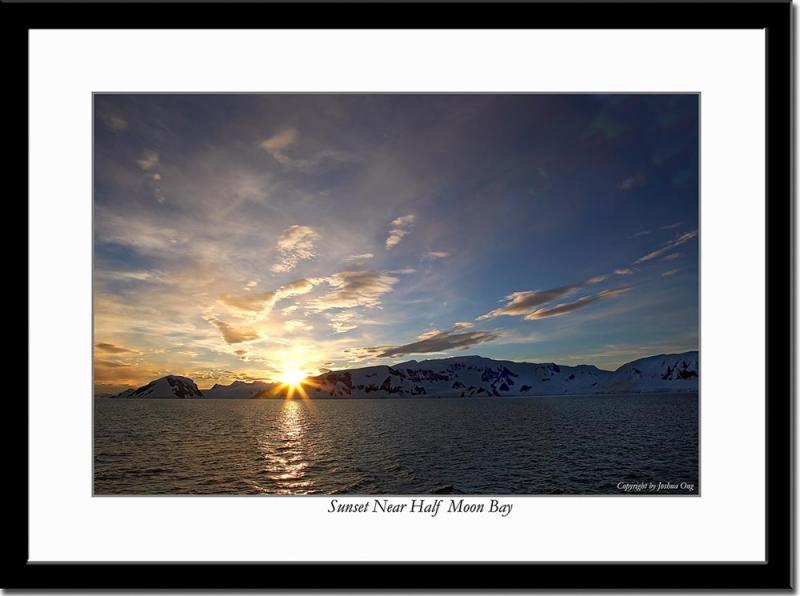 The Second Antarctic Sunset