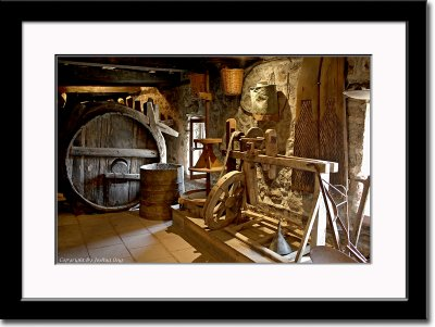 Former Winery Inside a Monastery