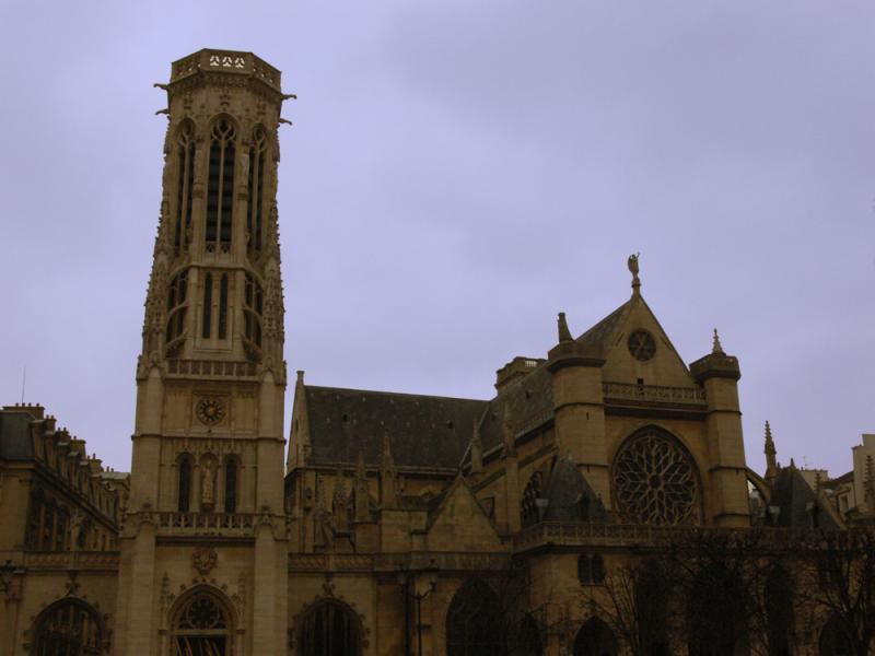 One of many churches in Paris