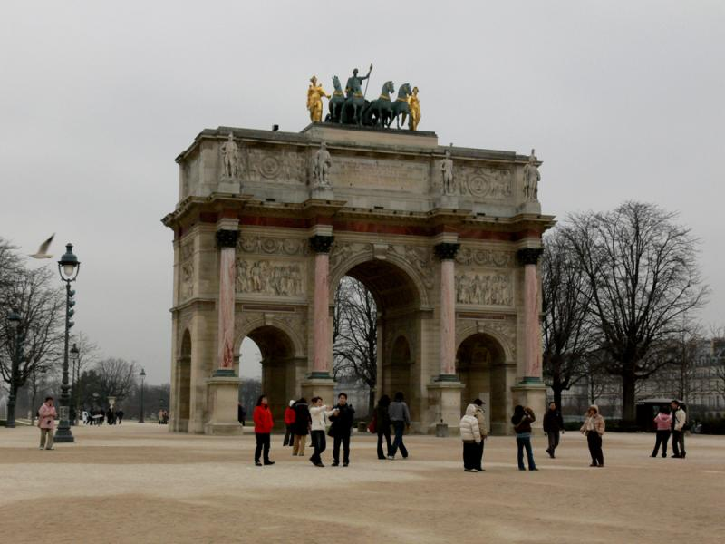 Entrance to Jardin de Tuileries