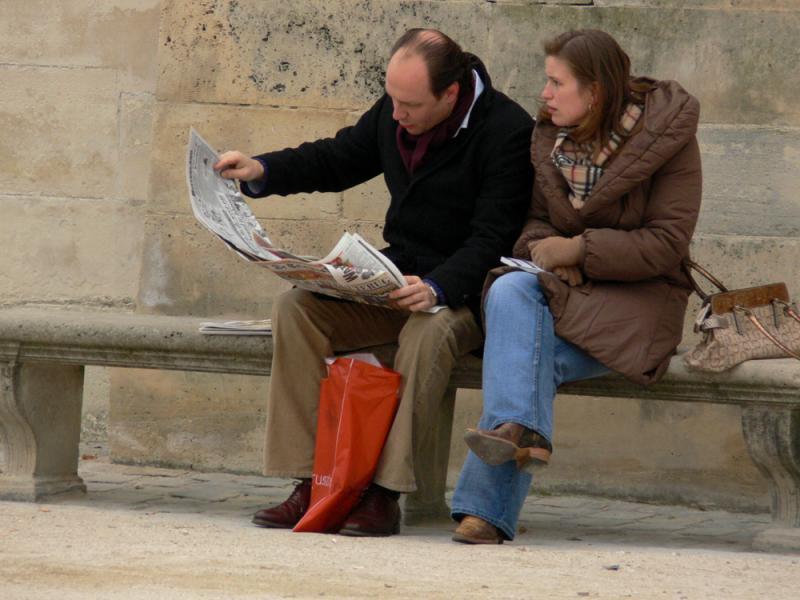 Reading al fresco