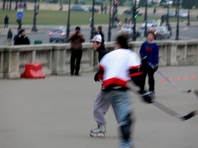 Game of hockey