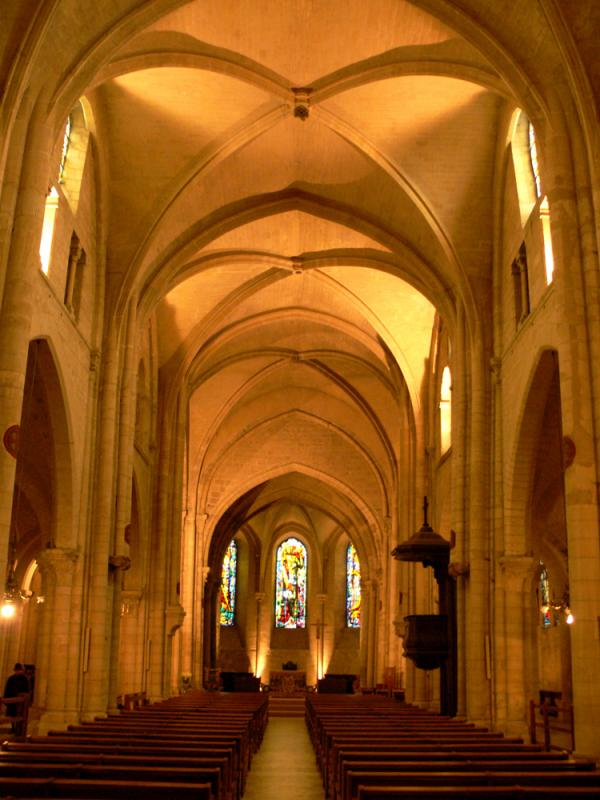 Abbey church on Montmartre