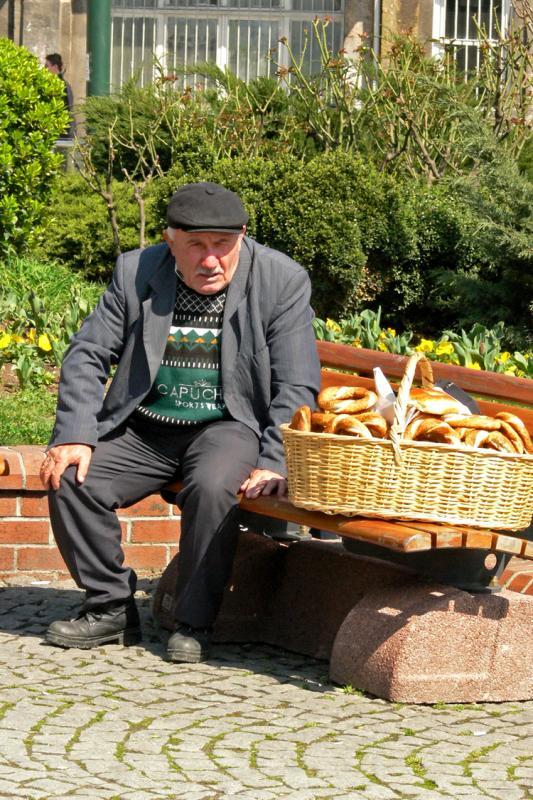 Bread seller