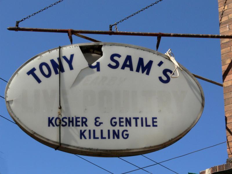 Kosher and Gentile Killing