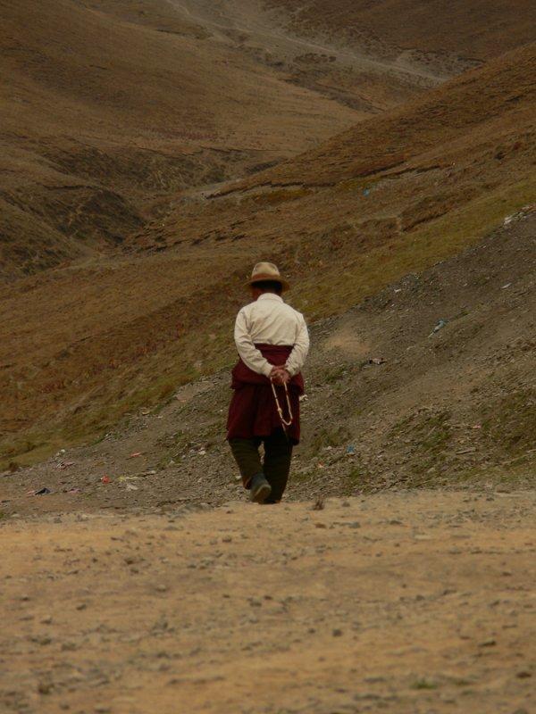 Walking the kora