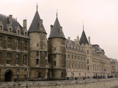 Buildings along the river Seine