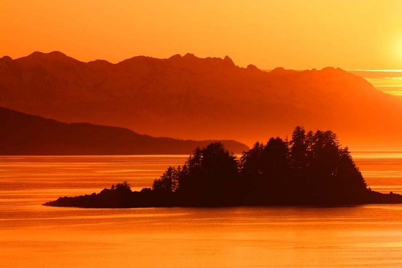 Sunset at Eagle Beach