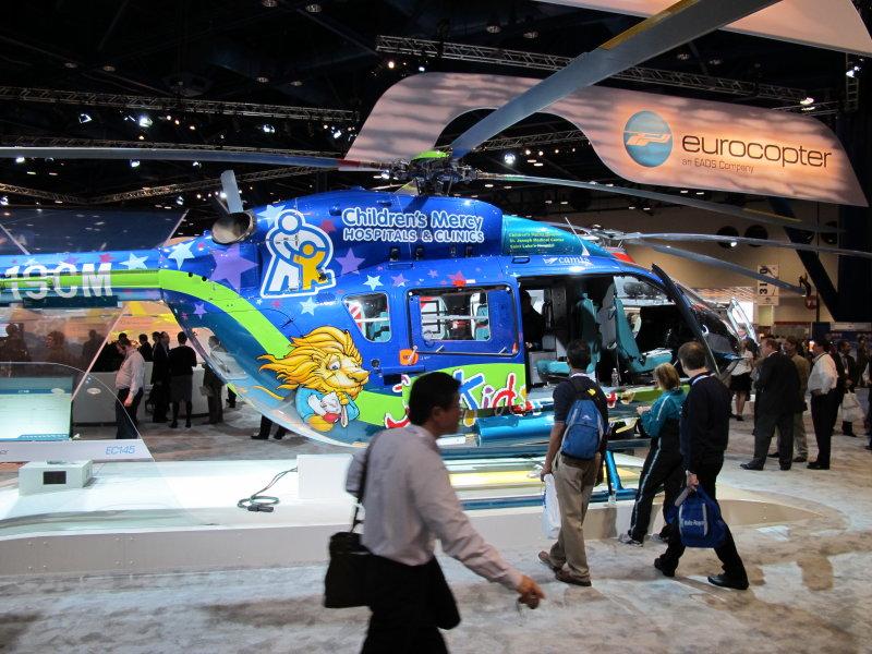 Eurocopter EC-145 Childrens Mercy Hosp.  Kansas City, MO
